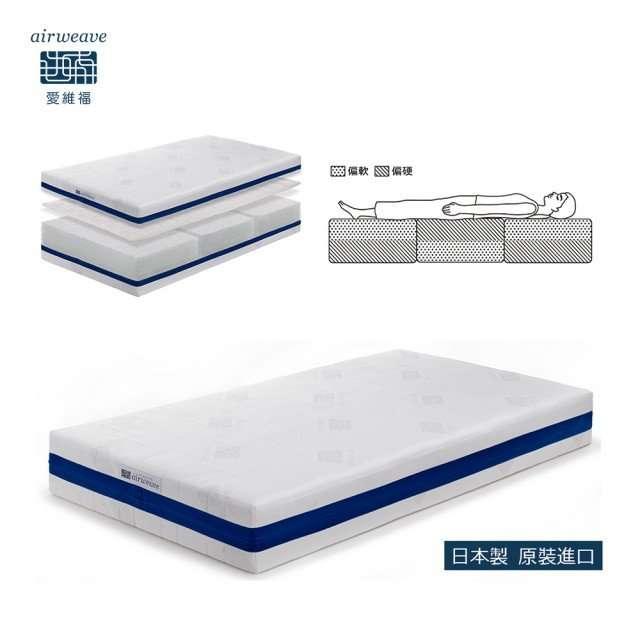 【Airweave愛維福】多模式可水洗床墊