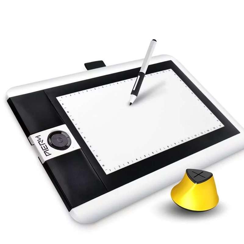 AERY繪圖板PF1061 繪圖板達人款 橡皮擦感壓筆