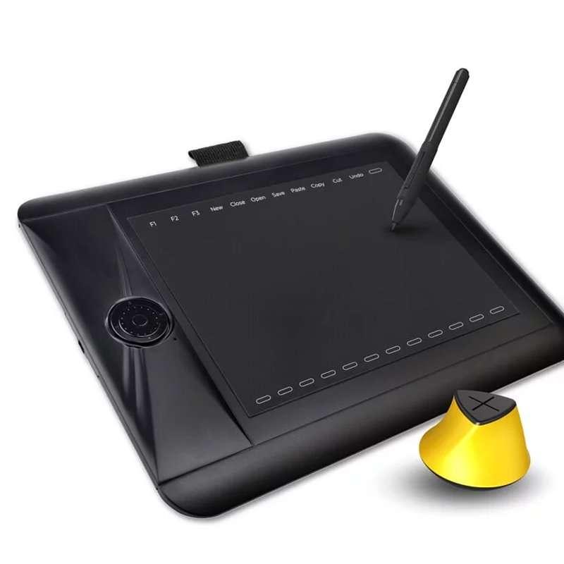 AERY繪圖板PF8616 專業繪圖板推薦款 橡皮擦感壓筆首選