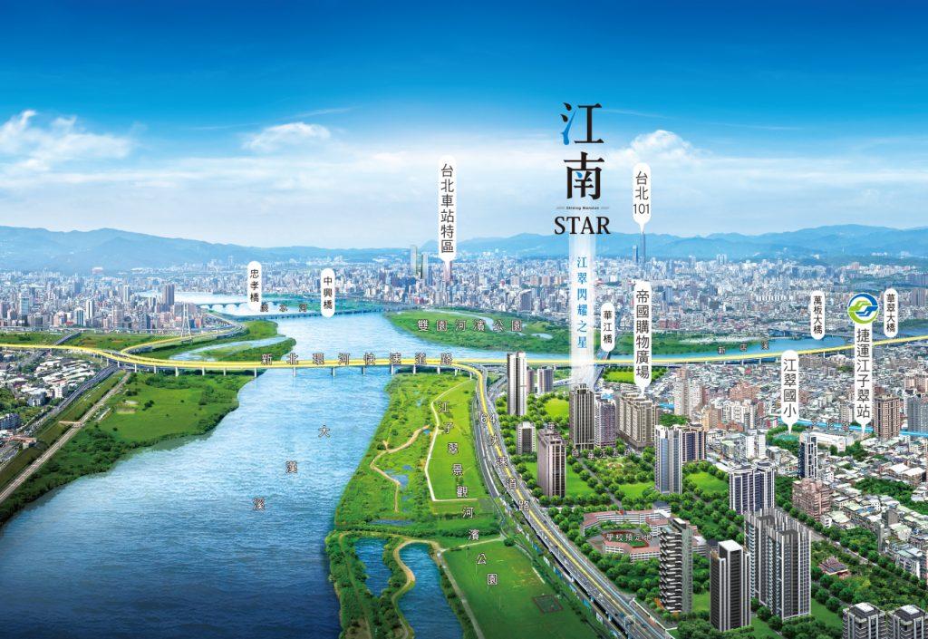 江南STAR-3D全景空拍圖