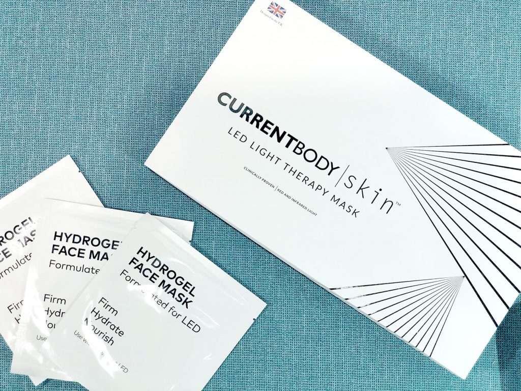 CurrentBody Skin LED光療面膜美容儀外盒包裝